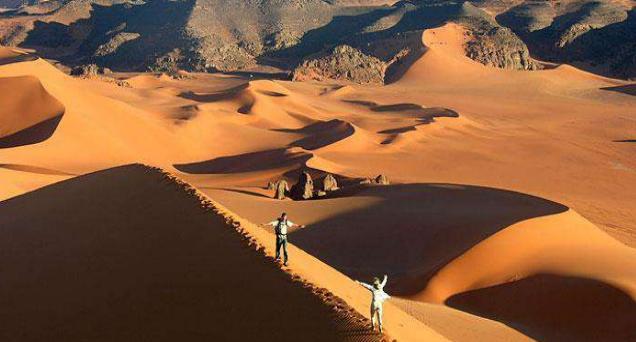 Argelia desierto