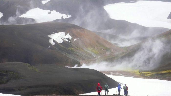 Senderismo en Islandia