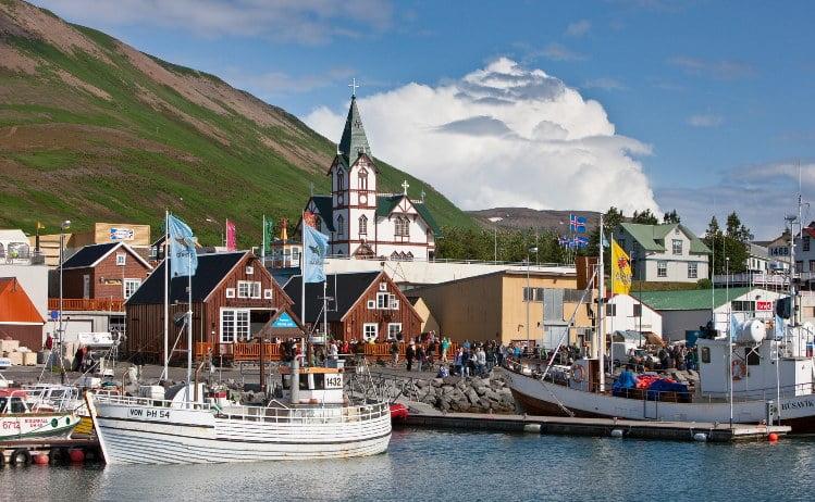 Pescadores Islandia