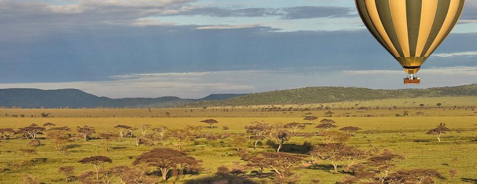 Safari en globo, Tanzania