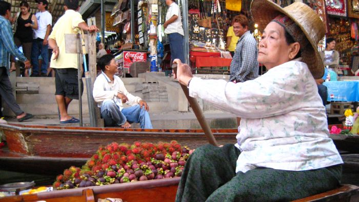mercado tailandés