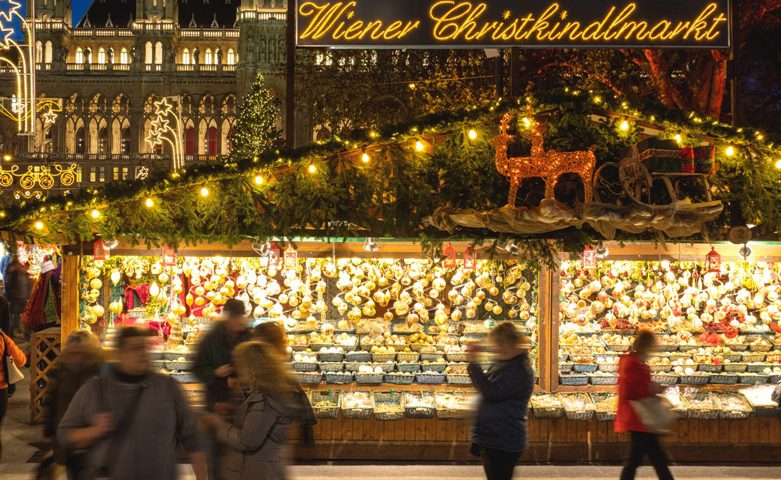 mercado navideño en Viena