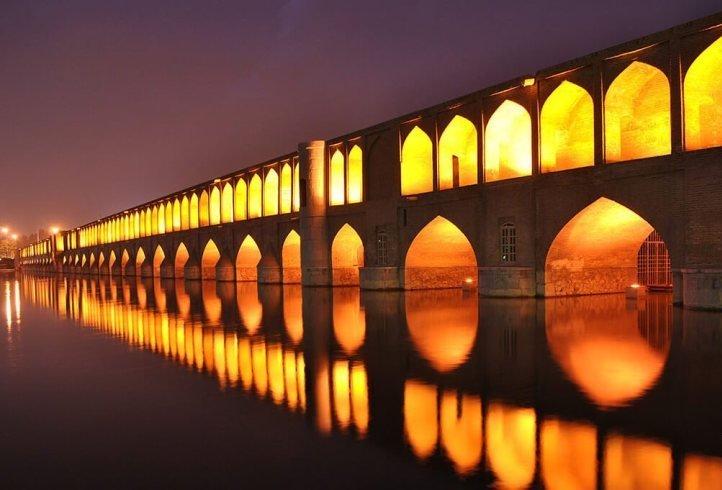 Irán puente Allahverdi Khan