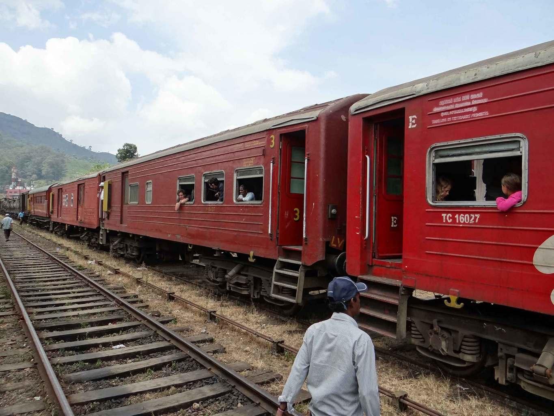 Trayecto en tren por las Tierras Altas