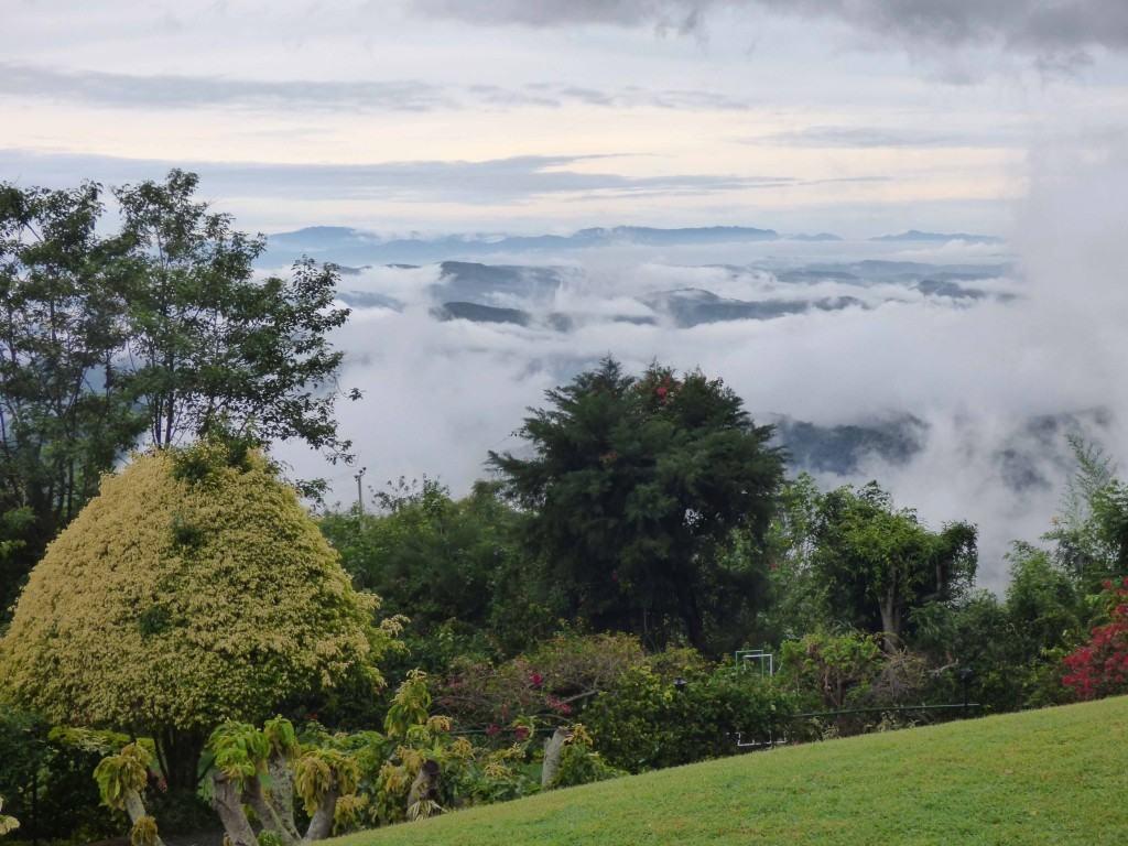 Vistas del paisaje en Haputale
