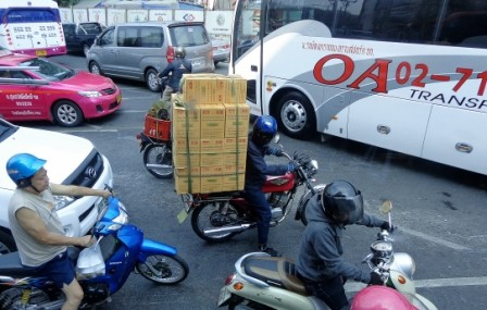 trafico tailandia